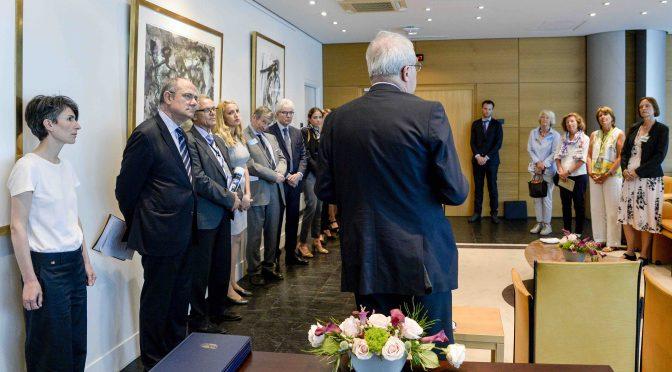 Partnerschaftsvereinbarung mit dem Europa Parlament in Straßburg